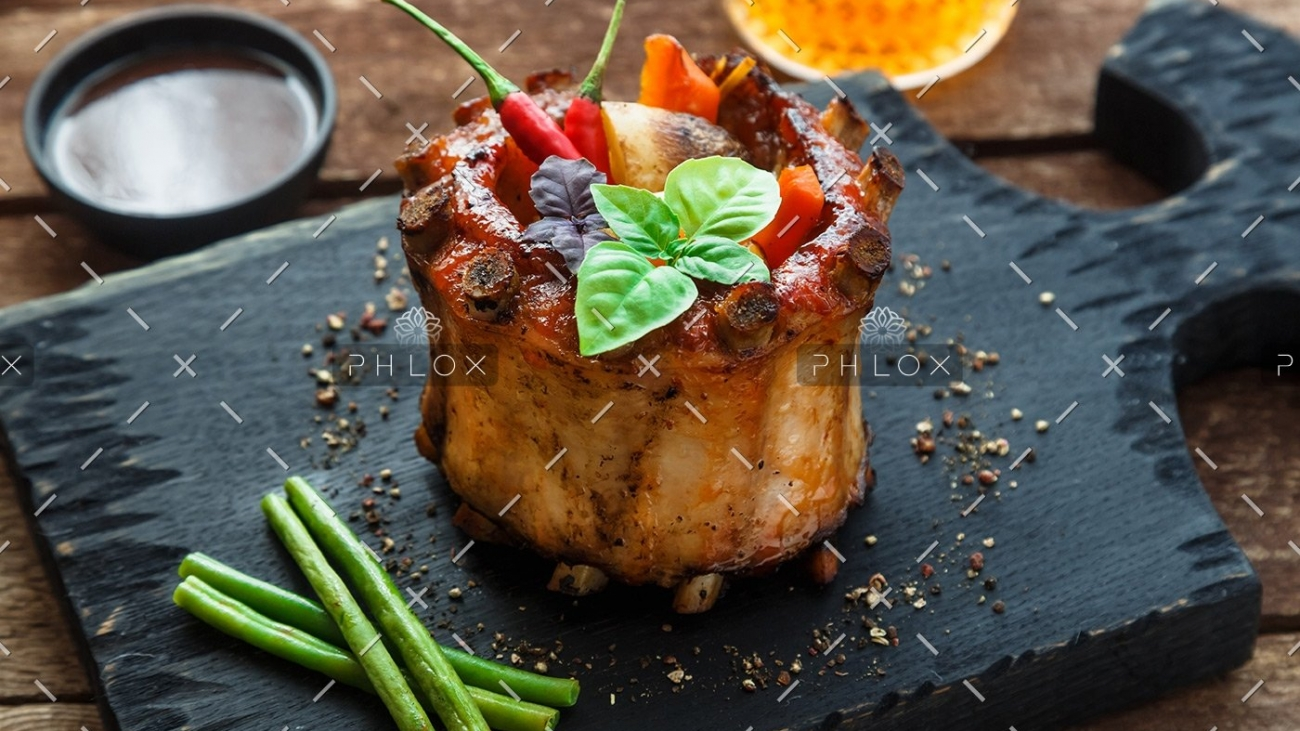 roasted-pork-ribs-crown-with-soy-sauce-honey-and-PMD9QBX