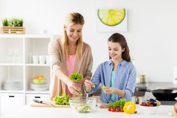 parents and daughter course classes cookery course